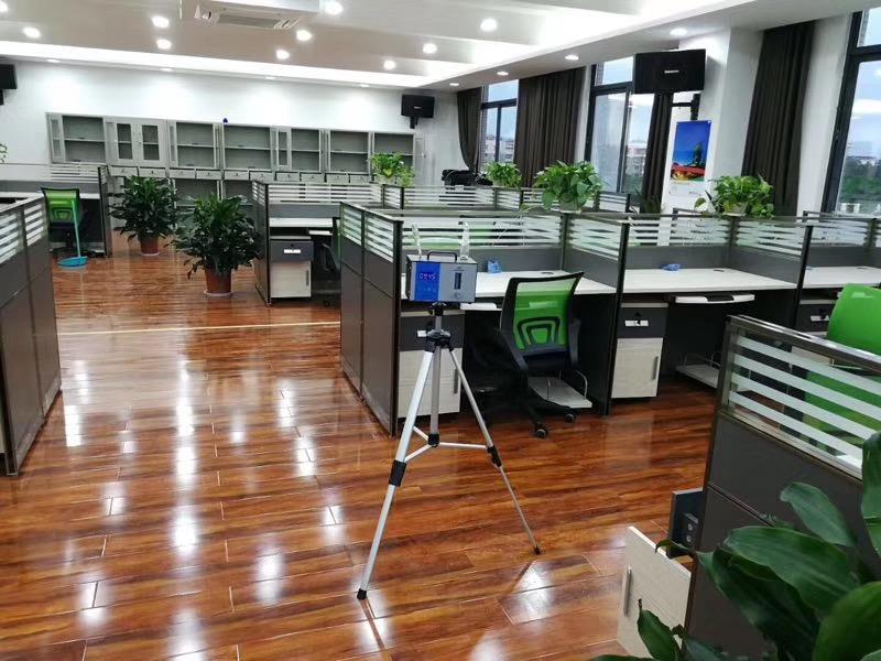 办公室甲醛检测过程1